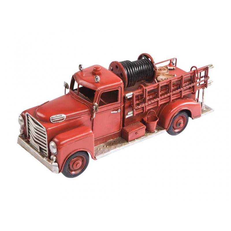 Gadżet - Wóz strażacki metalowy mały
