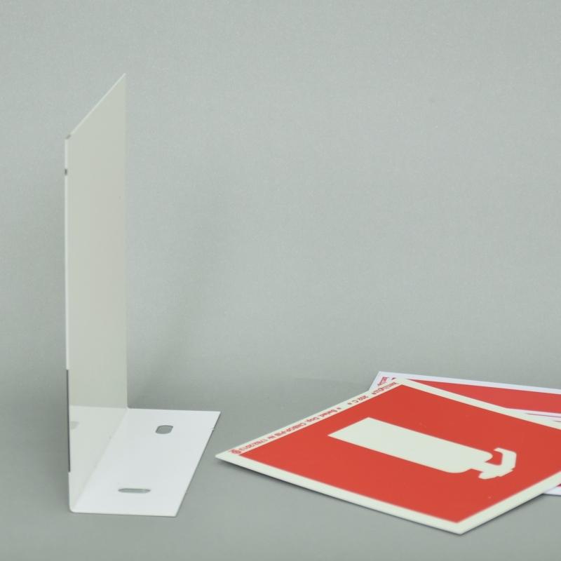 Wysięgnik do znaków 3D L 150x300 mm M/biały