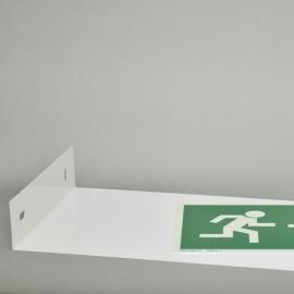 Wysięgnik do znaków 3D L 200x400 mm M/biały