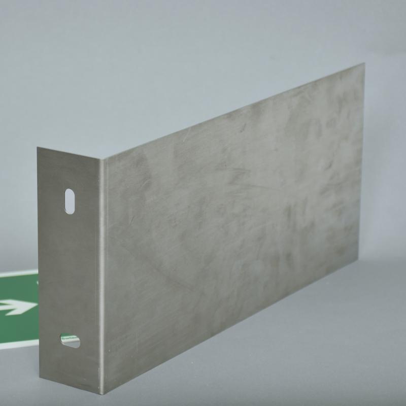 Wysięgnik do znaków 3D L 200x400 mm Stal nierdzewna