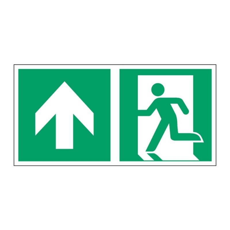 Znak Kierunek do wyjścia ewakuacyjnego E01-GG