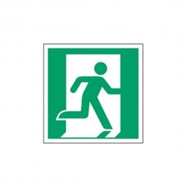Znak E002 Wyjście ewakuacyjne (prawo) E02