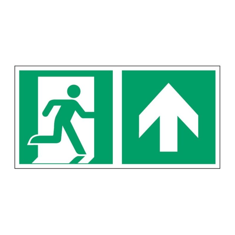 Znak Kierunek do wyjścia ewakuacyjnego E02-GG
