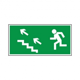 Znak 11 Kierunek ewakuacji schodami G-L
