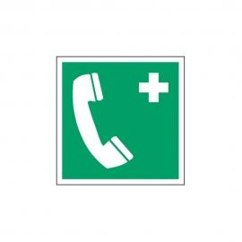 Znak Telefon alarmowy E04