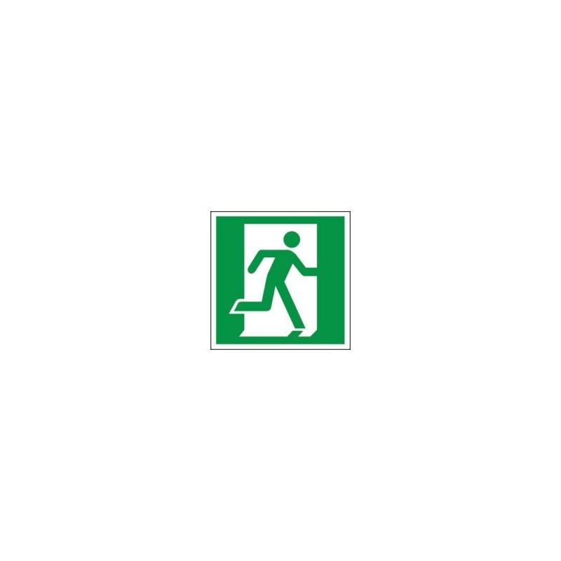 Znak 11 Drzwi ewakuacyjne P 150x150 FF