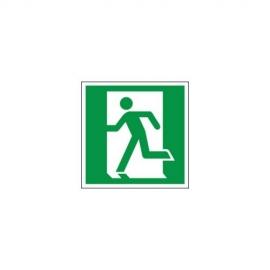 Znak 11 Drzwi ewakuacyjne L 150x150 FF