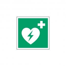 Znak E010 Defibrylator (AED) E10