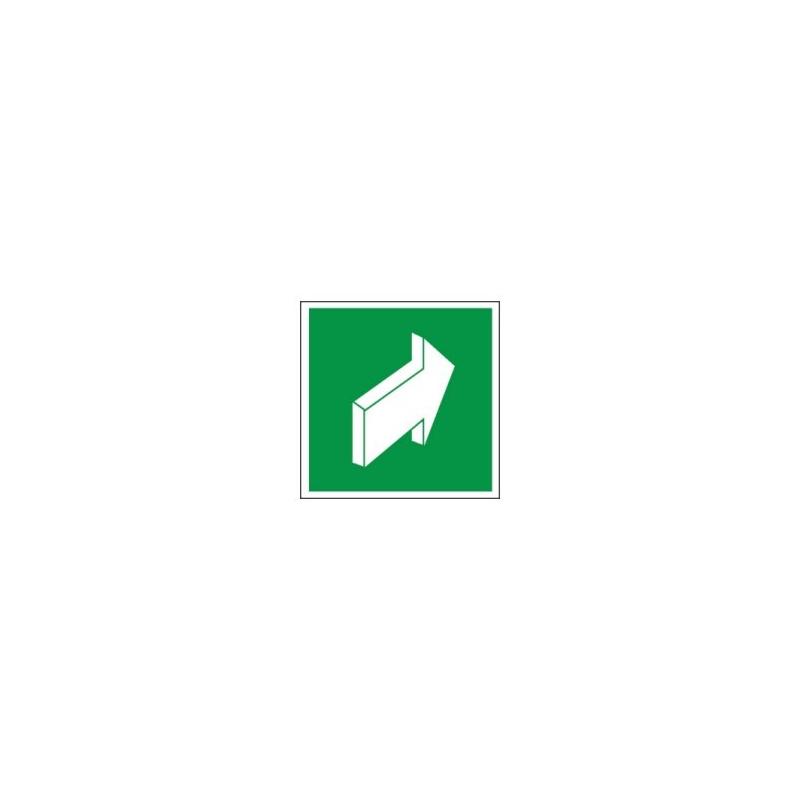 Znak 11 Pchać aby otworzyć bez napisu