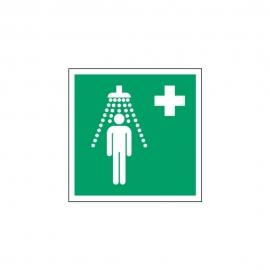 Znak Prysznic bezpieczeństwa E12