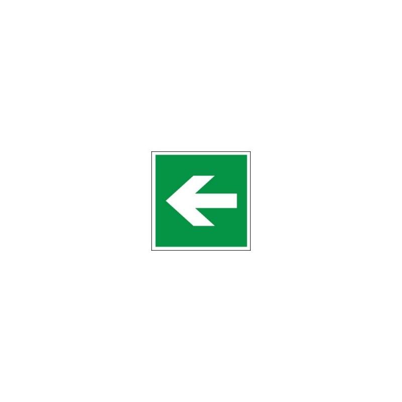 Znak 11 Kierunek drogi ewakuacyjnej strzałka prosta