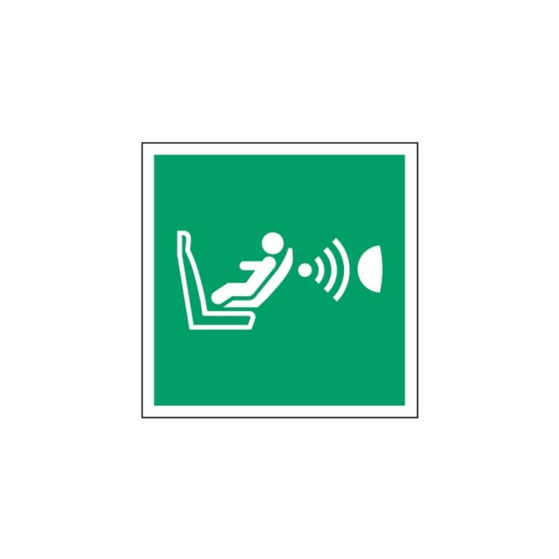 Znak System obecności fotelika E14