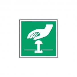 Znak Przycisk awaryjnego zatrzymania E20
