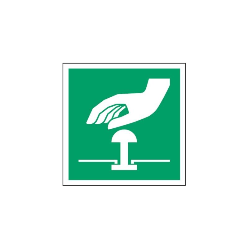 Znak E020 Przycisk awaryjnego zatrzymania E20