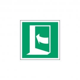 Znak E022 Pchać z lewej aby otworzyć E22