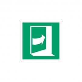 Znak Pchać z prawej aby otworzyć E23