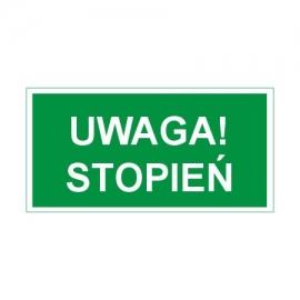 Znak Uwaga Stopień