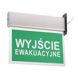 Lampa ewakuacyjna KASJOPEJA SIDE 3h SA