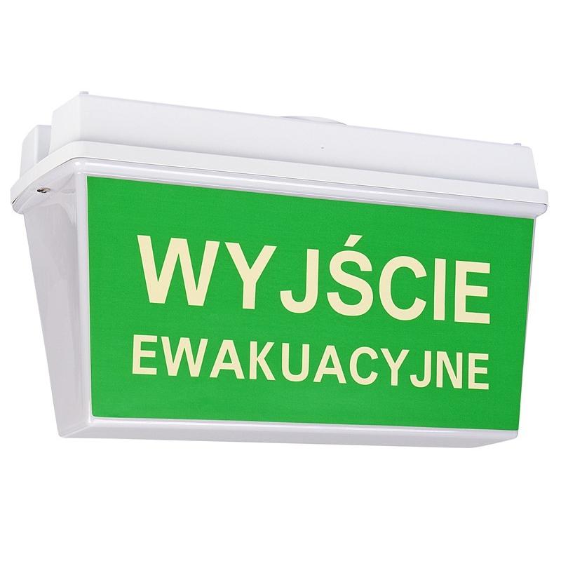 Lampa ewakuacyjna VEGA2 1h A KGO - 0,38 PLN/SZT