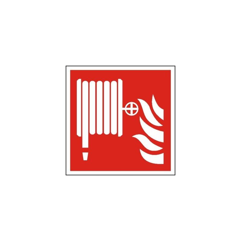 Znak F002 Hydrant wewnętrzny ISO7010 F02