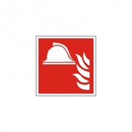 Znak F004 Zestaw sprzętu ochrony ppoż. ISO7010 F04