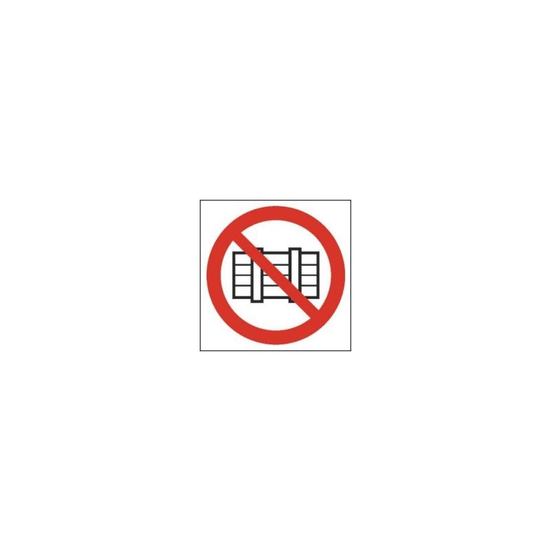 Znak 12  Nie zastawiać Droga poż.N 200x270PB