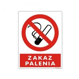 Znak Zakaz palenia ZN 150x200 PB