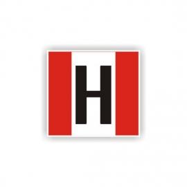 Znak Hydrant zewnętrzny