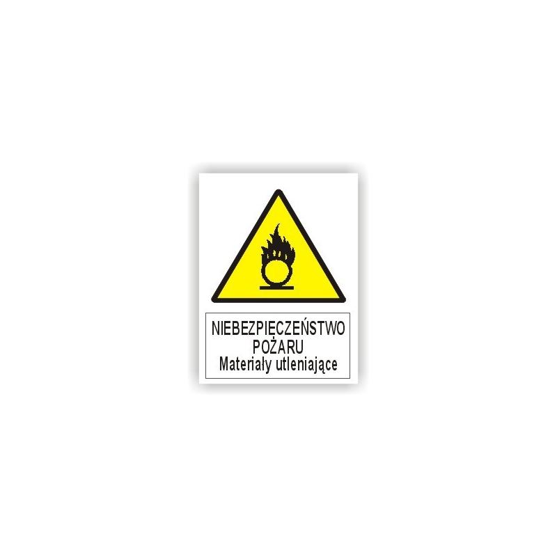 Znak Materiały Utleniające 225x275 PB