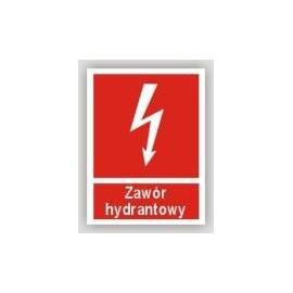 Znak 12 Zawór hydrantowy 150x200 FB