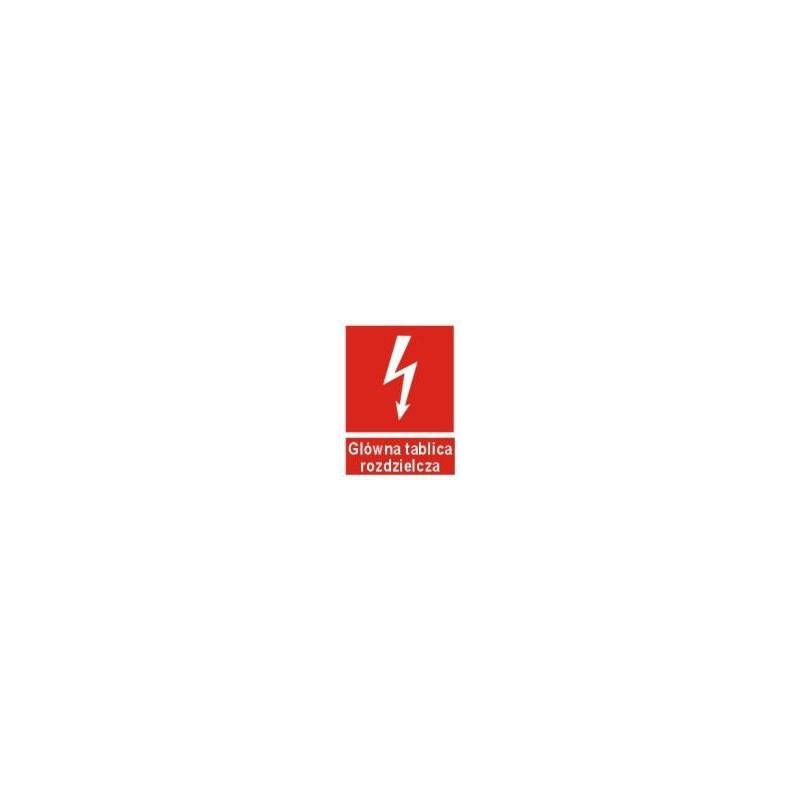 Znak 12 Główna tablica rozdzielcza 150x200 PB