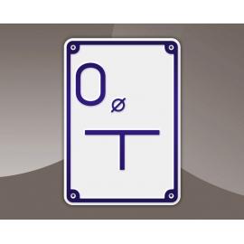 Tabliczka wodociągowa - Odpowietrznik