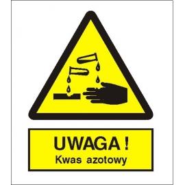 Znak 15 Uwaga kwas azotowy 225x275 PB