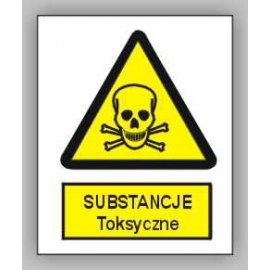 Znak 15 Uwaga Substancje Toksyczne 225x275 PB