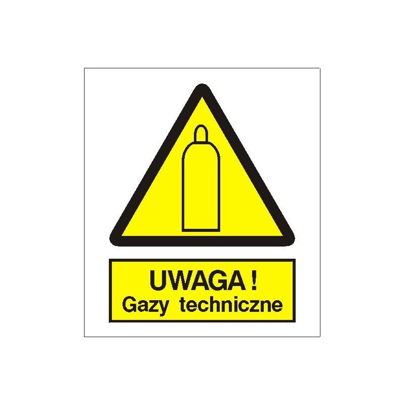 Znak Uwaga gazy techniczne 225x275 PB