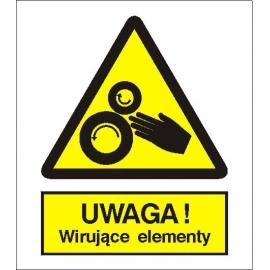 Znak 15 Uwaga Wirujące elementy 225x275 FB