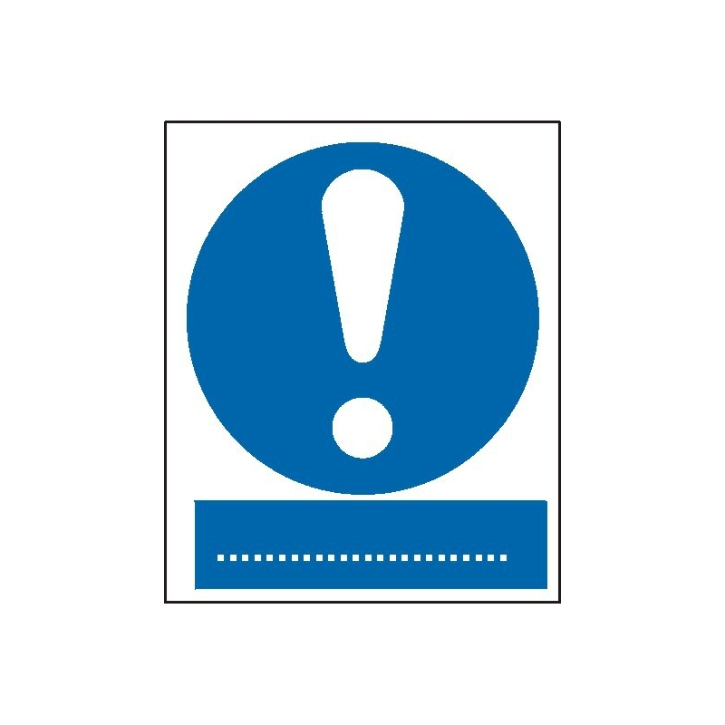 Znak Ogólny znak nakazu 225x275 PB