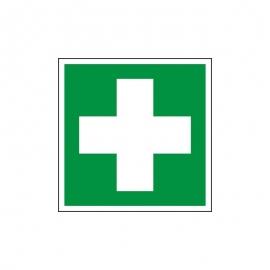 Znak 17 Pierwsza Pomoc Medyczna BNapisu 150x150 PF
