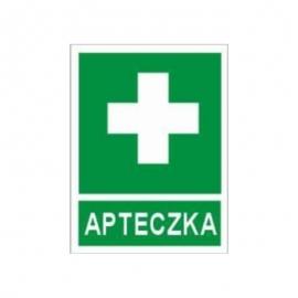 Znak Apteczka 110x140 PB