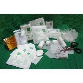 Wyposażenie - wkład apteczki DIN 13157