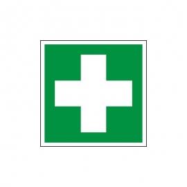 Znak 17 Pierwsza Pomoc Medyczna BNapisu 150x150 FF
