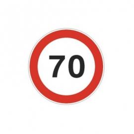 Tablica ADR Ograniczenie prędkości  70km/h 20x20
