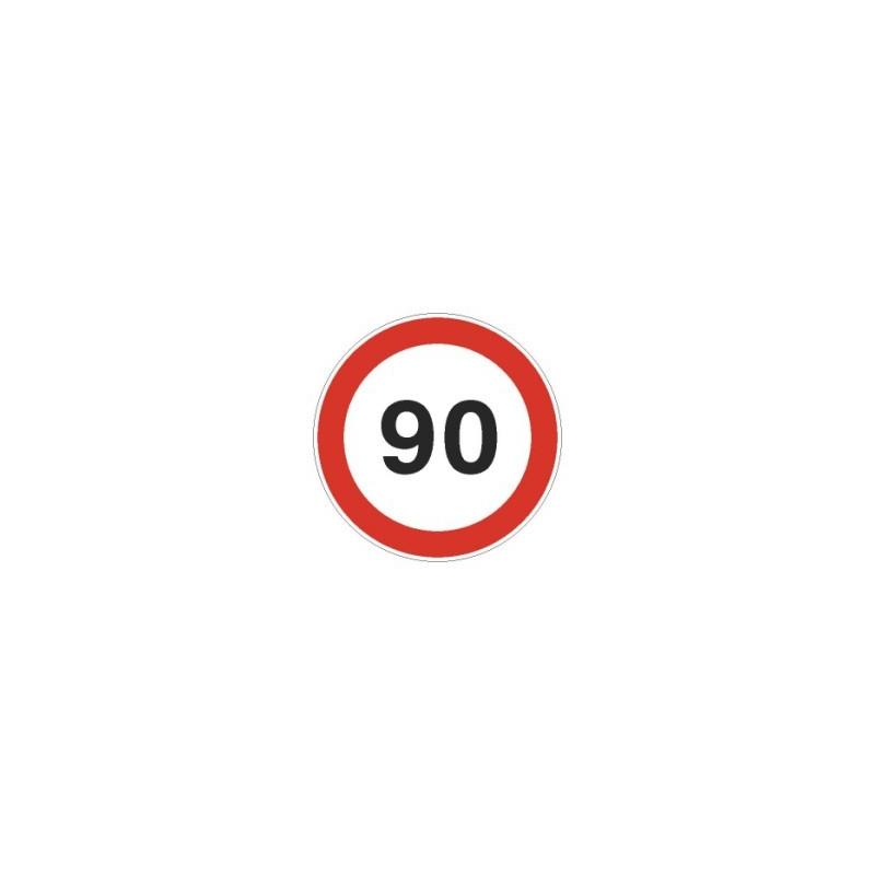Tablica ADR Ograniczenie prędkości  90km/h 20x20
