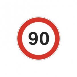 Tablica ADR Ograniczenie prędkości  90km/h