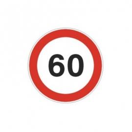 Tablica ADR Ograniczenie prędkości  60km/h 20x20