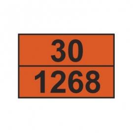 Tablica ADR 001/4 cyfrowa /30-1268/ 300x400 AL