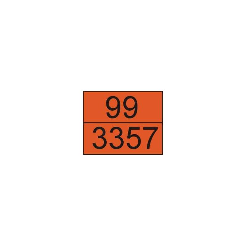 Tablica ADR 001/7 cyfrowa /99-3357/ 300x400 AL