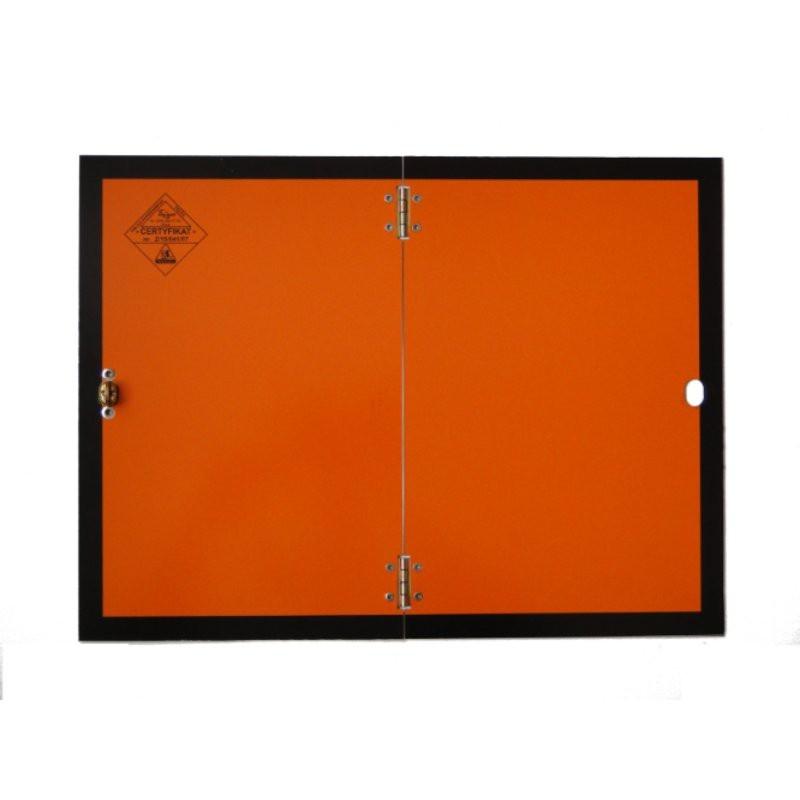 Tablica ADR 003 ładunek niebezpieczny ŁA 300x400 AL