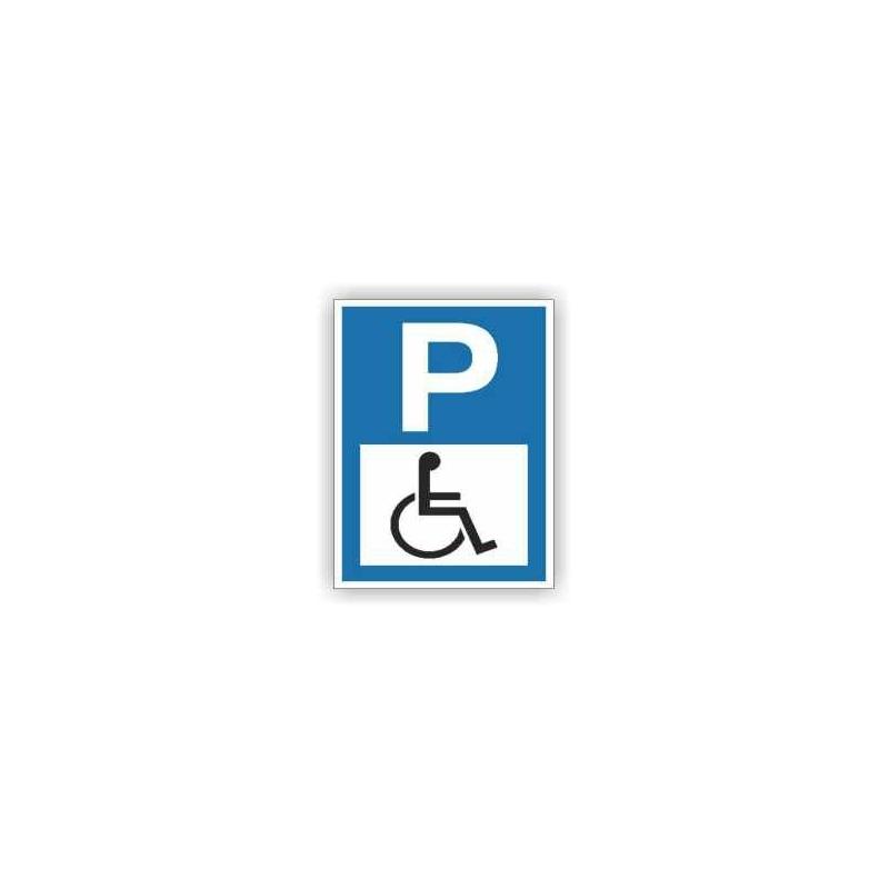 Znak Parking dla niepełnosprawnych 600x400 PB