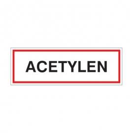 Znak Acetylen 300x100 PB